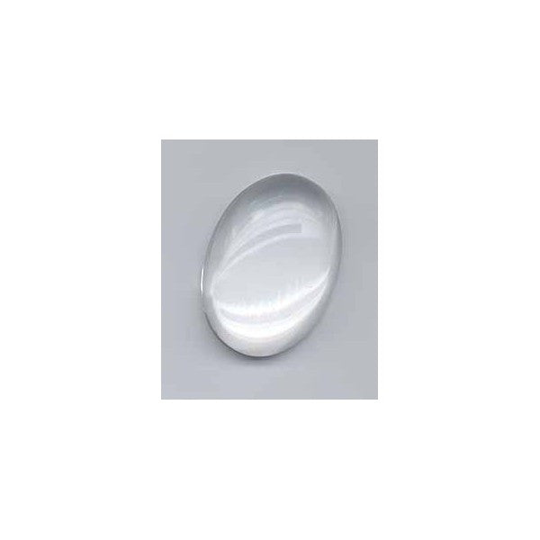 CABOCHON 18X13MM CLEAR QUARTZ