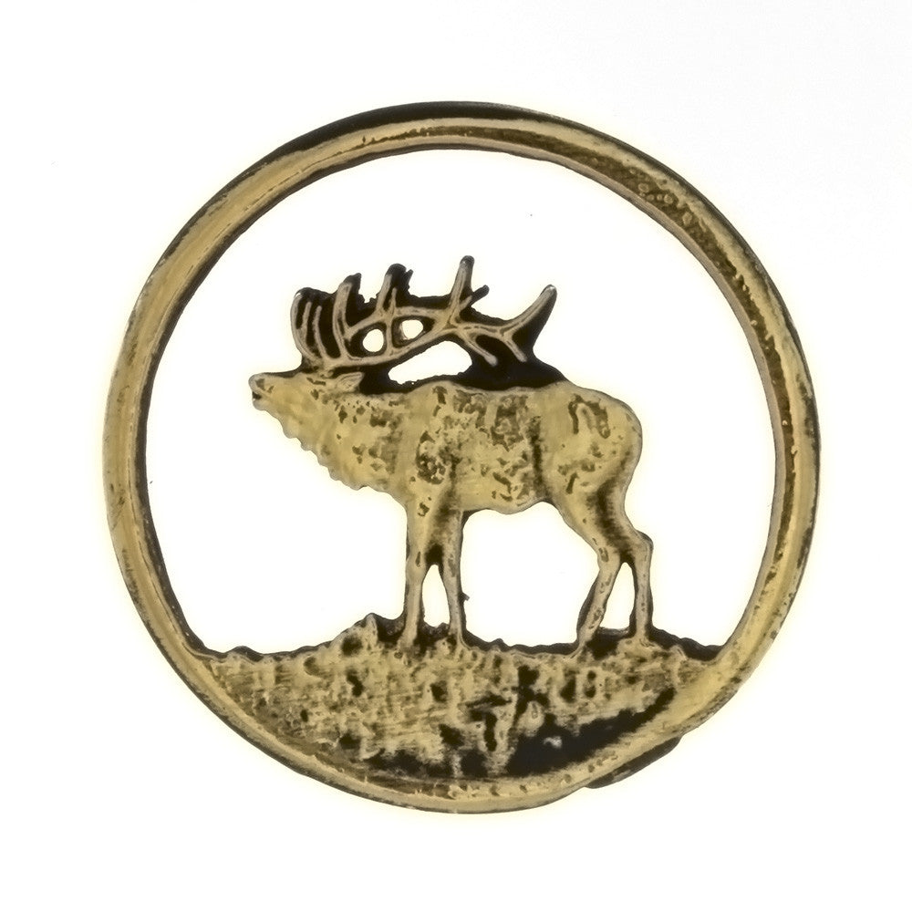 METAL ANIMAL ELK INSERT