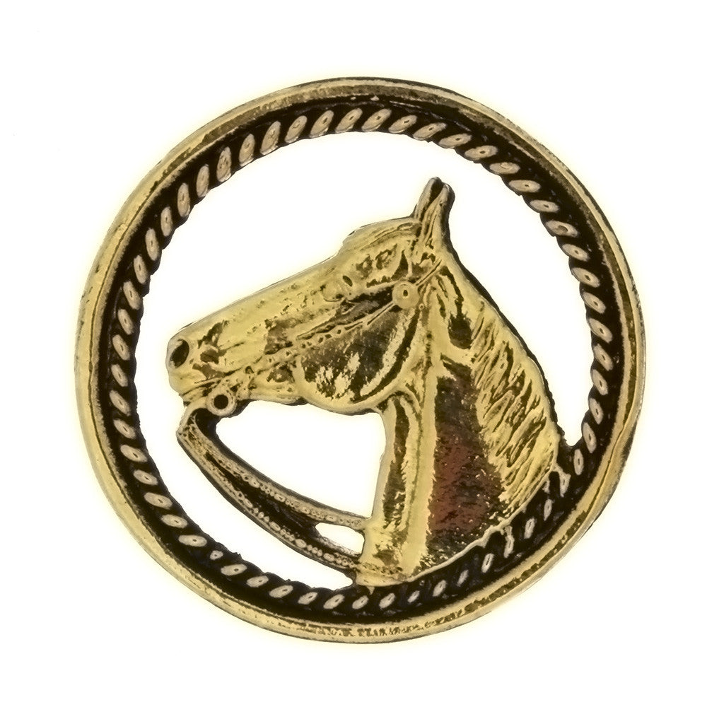 METAL ANIMAL HORSE INSERT