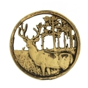 METAL ANIMAL DEER INSERT