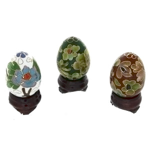 DECOR CLOISONNE EGG NOVELTY