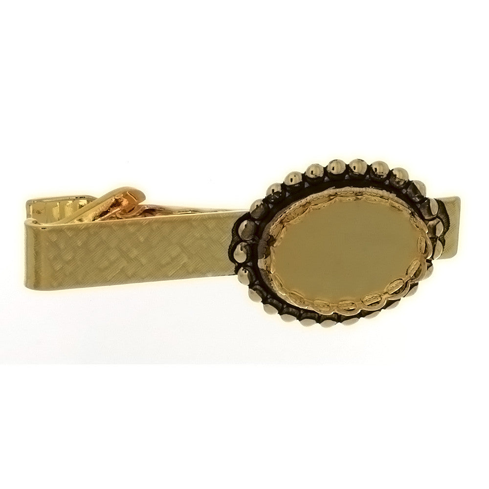 TIE CLIP CABOCHON 13 X 18 MM FINDING