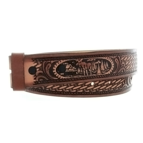 BELT MOOSE BROWN