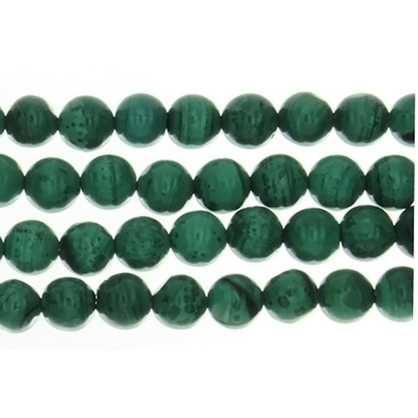 MALACHITE ROUND 6 MM STRAND