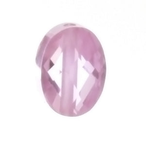 CUBIC ZIRCONIA PINK OVAL 6 X 8 MM LOOSE (3 PC)