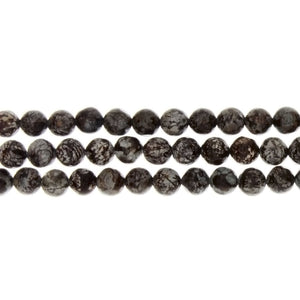 JASPER CHOCOLATE ROUND 6 MM STRAND