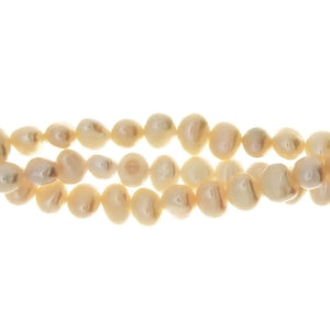 PEARL FW NUGGET 6 MM STRAND