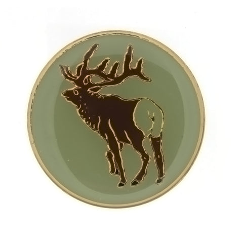 ENAMEL ANIMAL ELK INSERT