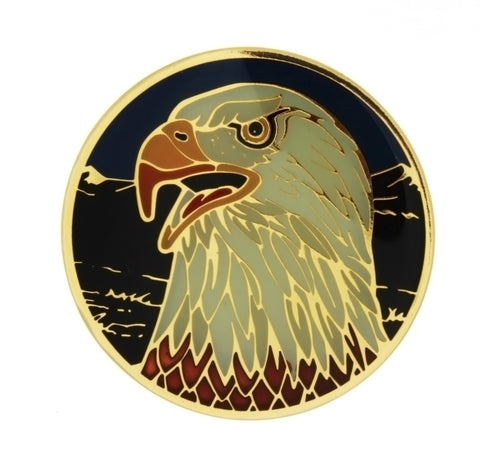 ENAMEL ANIMAL EAGLE INSERT