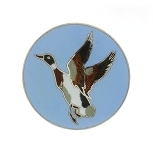 ENAMEL ANIMAL DUCK INSERT