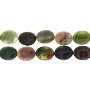JASPER FANCY OVAL 11 X 14 MM STRAND