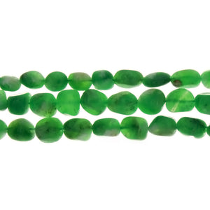 CHRYSOPRASE NUGGET 6 MM STRAND