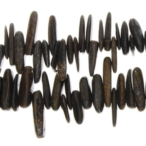 BRONZITE NEEDLE 3 X 15 MM STRAND