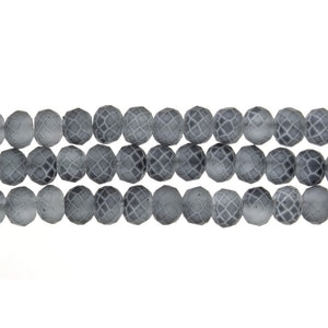 CHINESE CRYSTAL HANDCUT FACETED 8 MM