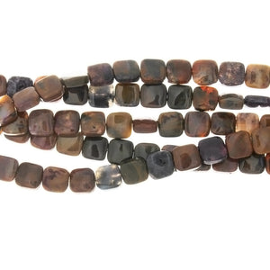 NATURAL SQUARE 10 MM STRAND