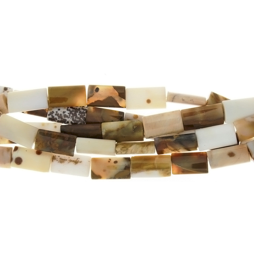 NATURAL RECTANGLE 12 X 20 MM STRAND