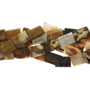 NATURAL RECTANGLE 16 X 22 MM STRAND