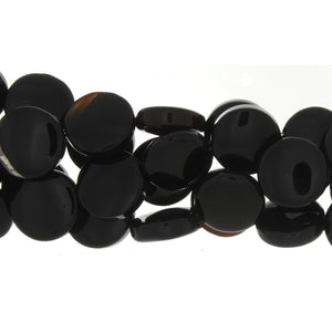 BLACK COIN 16 MM STRAND