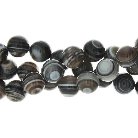 BANDED ROUND 14 MM STRAND