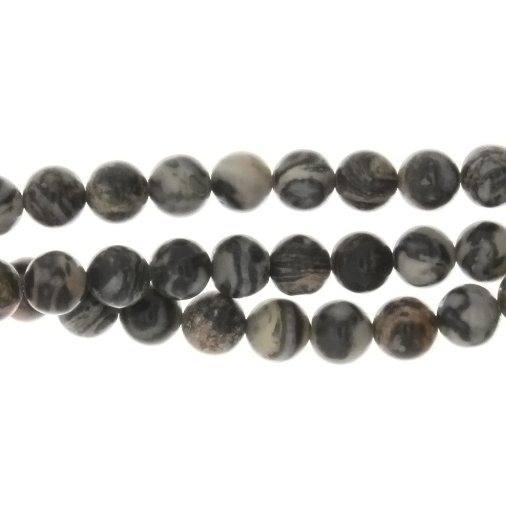 FOSSIL ROUND 6 MM STRAND