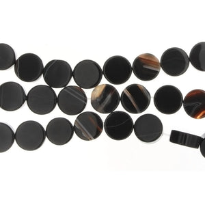 BLACK LINE COIN 12 MM STRAND