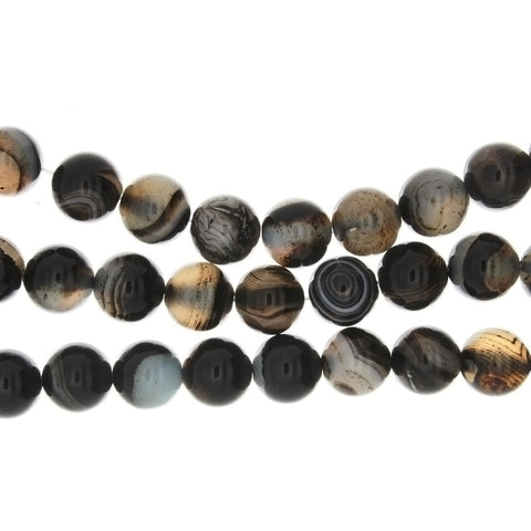 BANDED ROUND 12 MM STRAND