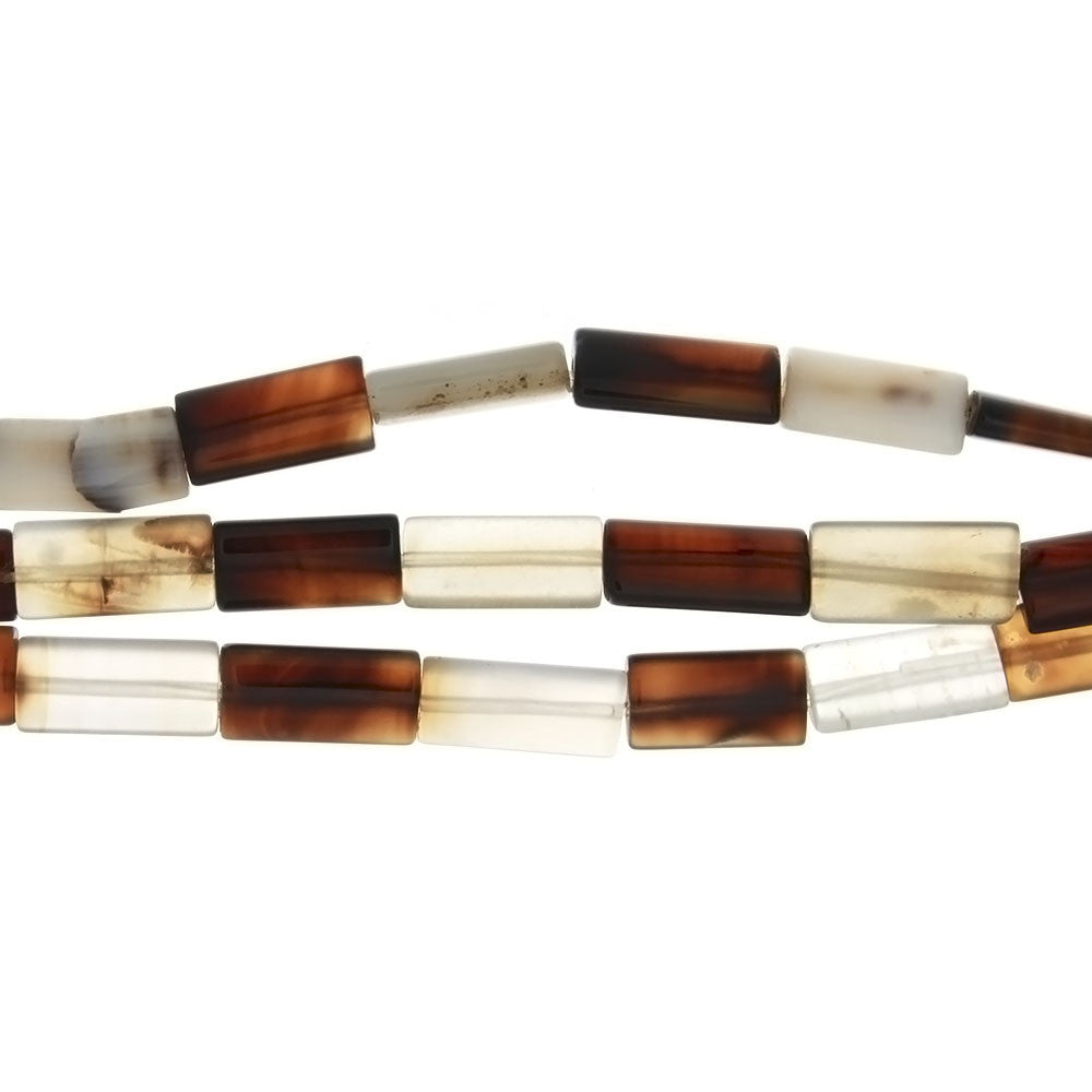 NATURAL RECTANGLE 8 X 16 MM STRAND