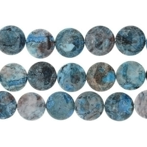 LAGUNA LACE BLUE COIN 29 MM STRAND