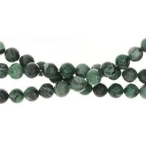 LAGUNA LACE GREEN ROUND 10 MM STRAND