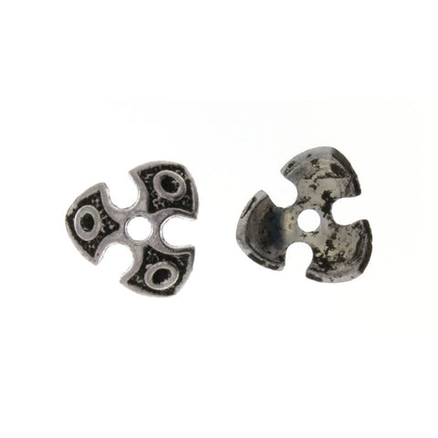 BEAD CAP 14 MM PEWTER FINDING (80 G)