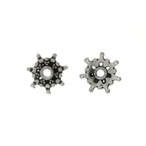 BEAD CAP 9 MM PEWTER FINDING (80 G)