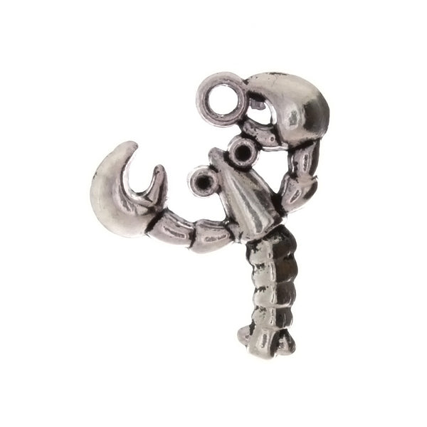 ANIMAL LOBSTER 24 X 28 MM PEWTER CHARM