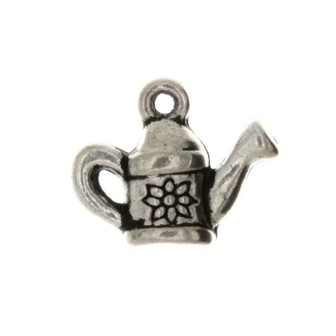 NOVELTY WATERING CAN 17 X 21 MM PEWTER CHARM