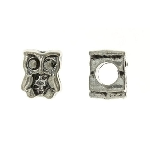 BEAD ANIMAL OWL 9 X 11 MM