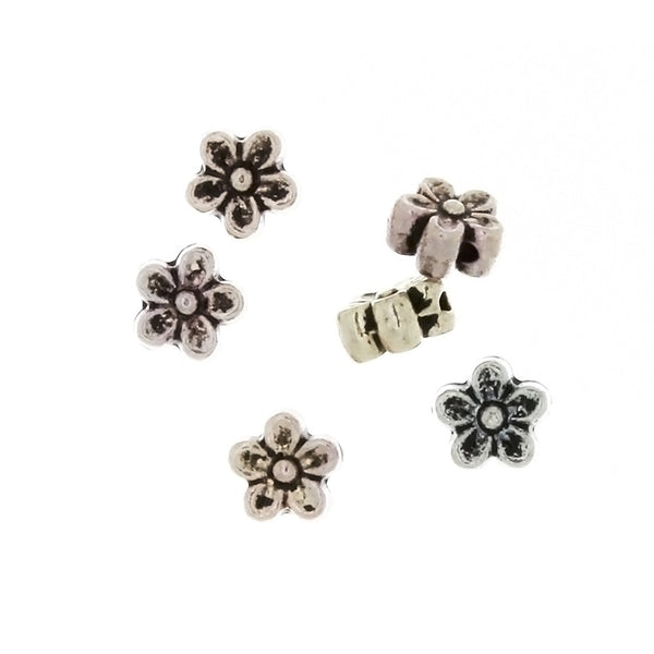 BEAD NATURE FLOWER 6 X 7 MM