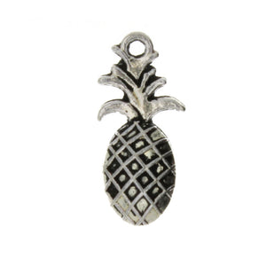 FOOD PINEAPPLE 8 X 23 MM PEWTER CHARM