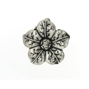 NATURE FLOWER 37 MM PEWTER CHARM