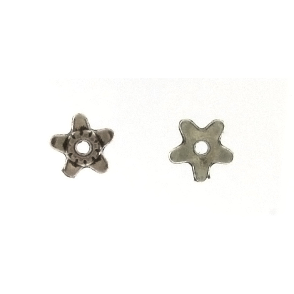 BEAD CAP 5 MM PEWTER FINDING (80 G)