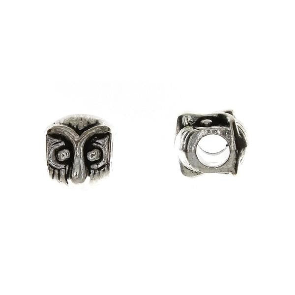 BEAD ANIMAL OWL 9 X 10 MM