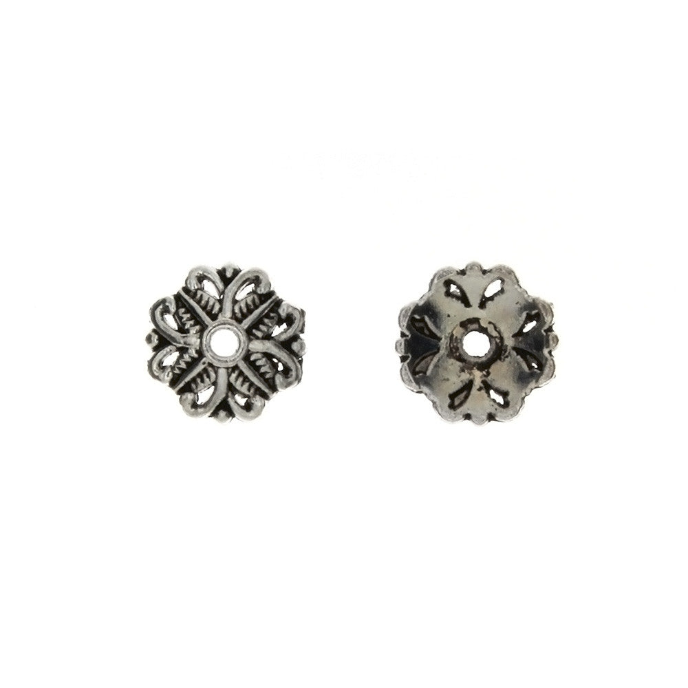 BEAD CAP 11 MM PEWTER FINDING (80 G)