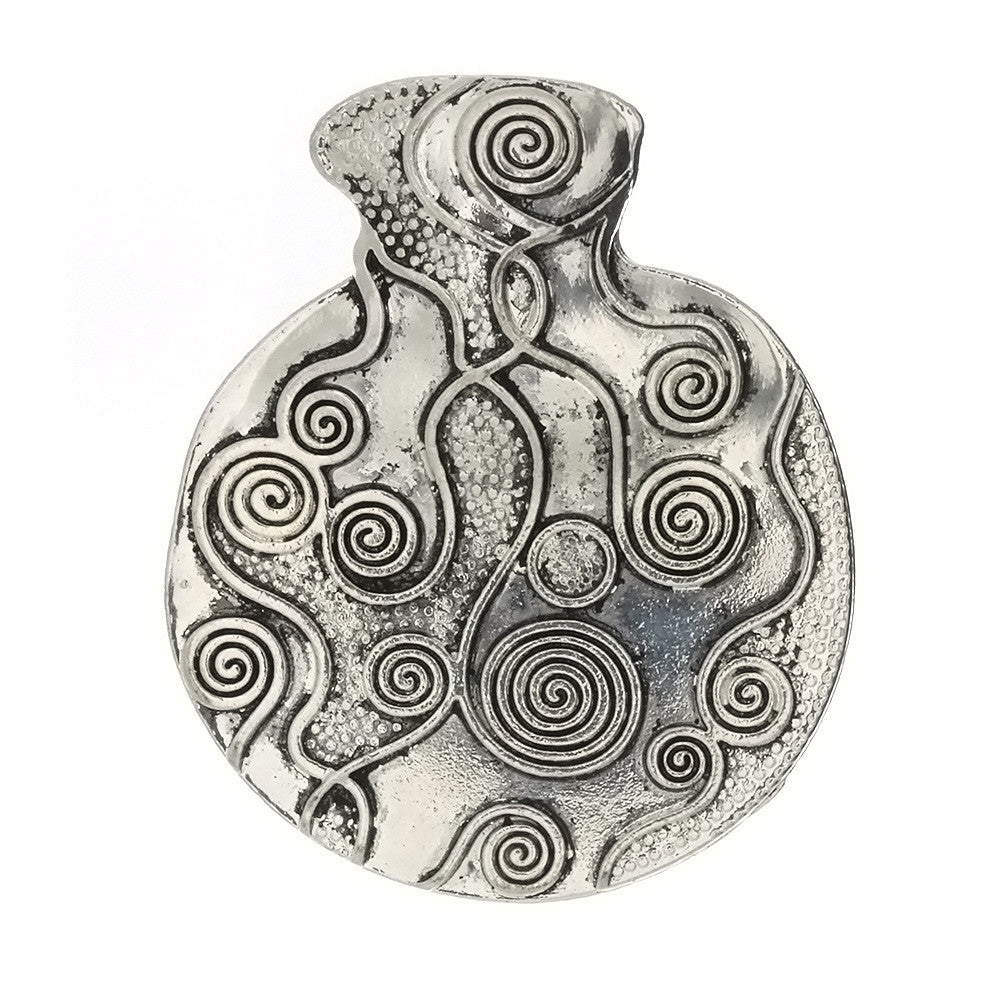 DESIGN COIN 47 MM PEWTER CHARM