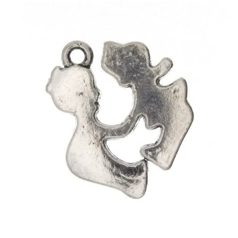 NOVELTY KIDS 19 X 23 MM PEWTER CHARM