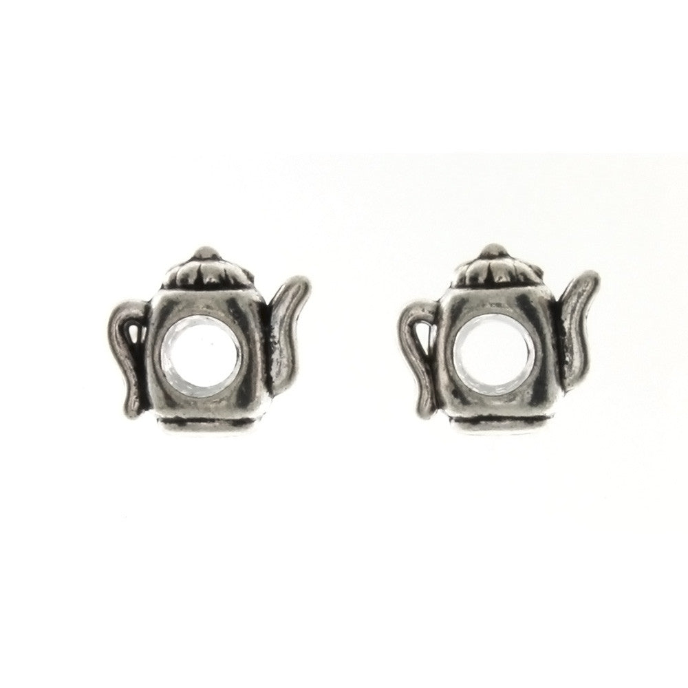 BEAD NOVELTY TEAPOT 12 X 12 MM