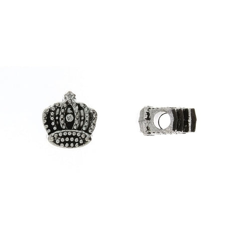 BEAD NOVELTY CROWN 12 X 12 MM