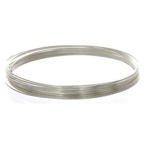 GENERIC 24 GAUGE HALF-ROUND SS WIRE (1 FT)