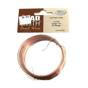 BEADSMITH 20 GAUGE COPPER WIRE (6 M)