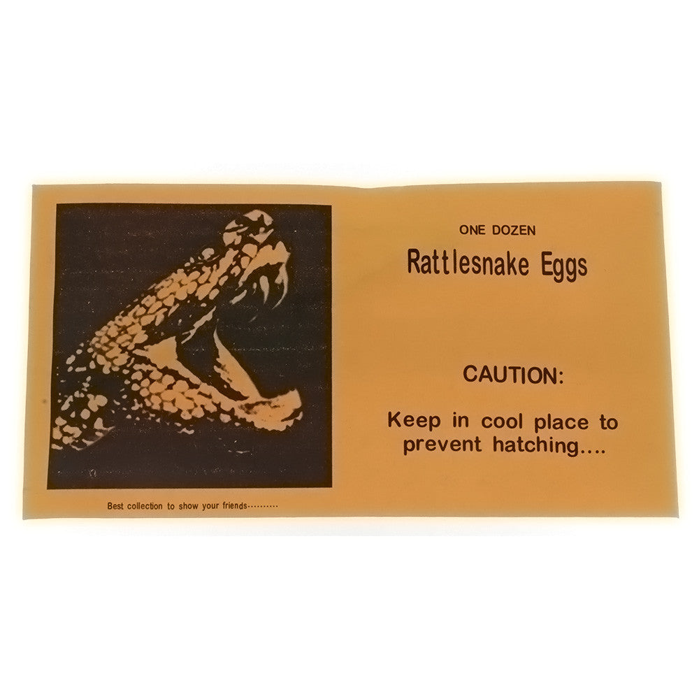 KIDS' RATTLESNAKE EGGS GAG GIFT NOVELTY