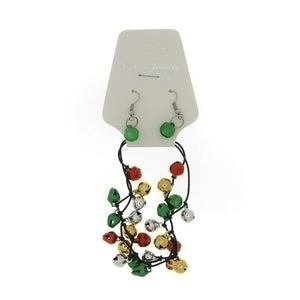 CHRISTMAS BRACELET SET BELL NOVELTY