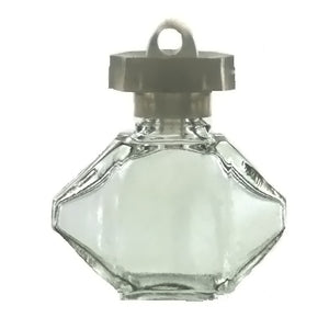 HOBBY GLASS BOTTLE 1 X 1 1/8 IN NOVELTY