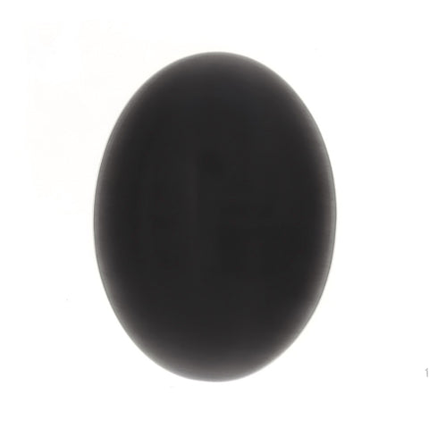 DALE STONE FIBER OPTIC BLACK CABOCHONS